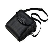 Case Leather for Coolpix P-Series Black