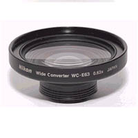 Wide Angle Lens WCE63 for select Coolpix