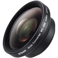 Wide Angle Lens WCE68 for select Coolpix