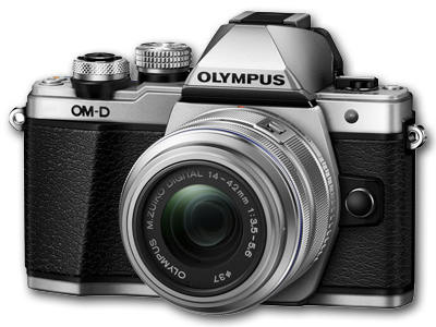 OM-D E-M10 Mark II with 14-42mm IIR Lens Silver