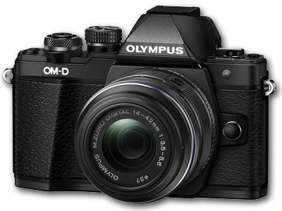 OM-D E-M10 Mark II with 14-42mm IIR Lens Black