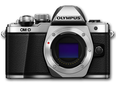 Olympus OM-D E-M10 Mark II 16 MP Body SILVER