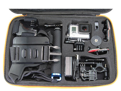 Action Camera Accessory Kit & Case for GoPro Hero