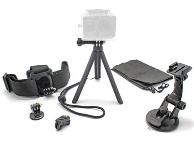 6 in 1 Action Camera Accessory Kit