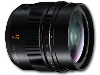 12mm f/1.4 Lumix G Leica DG Summilux Lens