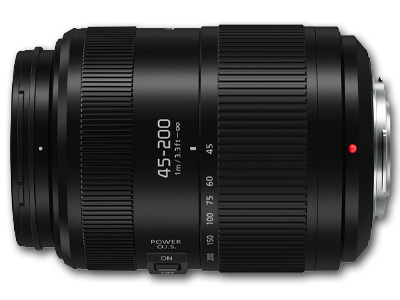 45-200mm f4-5.6 II Power O.I.S. Vario Lens