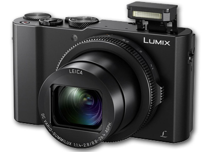 Lumix DMC-LX10 20MP 3X Zoom BLACK