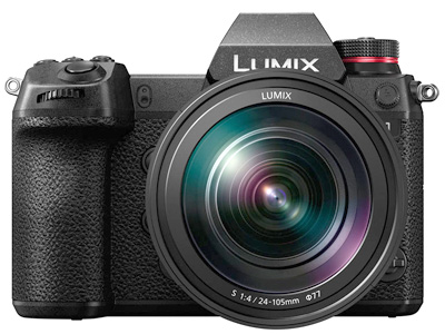 Lumix DC-S1 with 24-105mm Mirrorless Camera