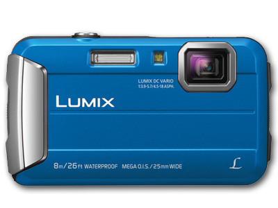 Lumix TS30  Water and Shockproof Camera BLUE