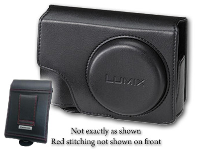 Black Case with Red Stitching for ZS100
