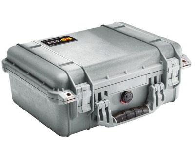 Pelican 1450 Case Grey w/ Foam