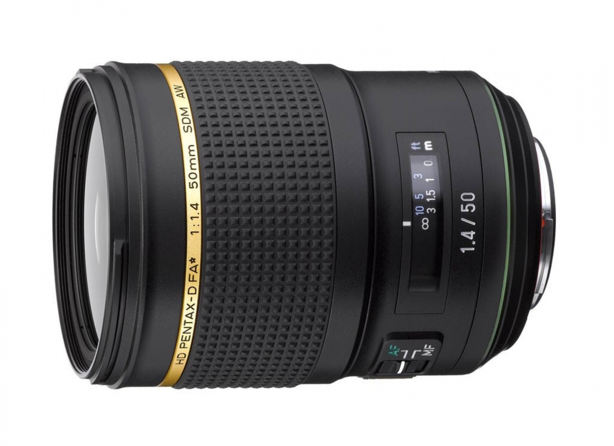 50mm f1.4 HD FA SDM AW Lens