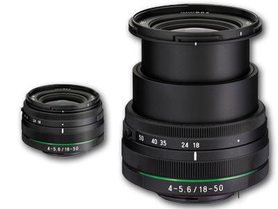Camera Canada :: Pentax :: 18-50mm f4 0-5 6 HD DA DC WR RE