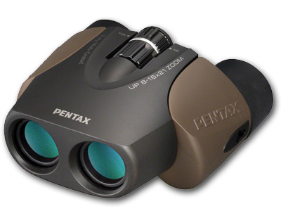 UP 8-16x21 Zoom Porro Prism Binoculars Brown