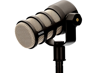 Dynamic Podcasting Microphone