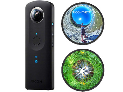 Ricoh Theta S Spherical Camera