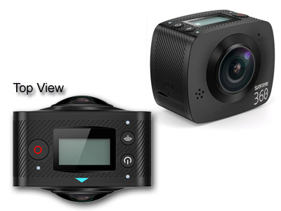 Safari 360 VR Camera with Dual Lens