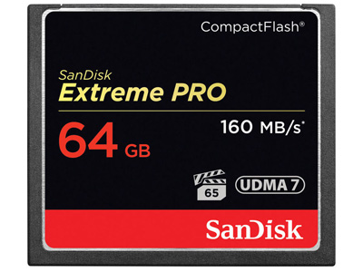 64GB Extreme PRO Compact Flash Memory Card