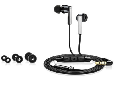 CX5.00G  Stereo Earphones Black Samsung Galaxy