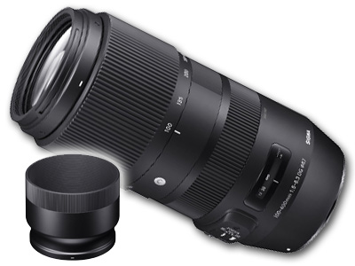100-400mm f/5-6.3 DG OS HSM Lens for Canon