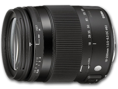 18-200mm f3.5-6.3 DC OS HSM Macro Lens Canon