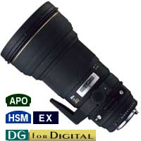 300mm f2.8 APO EX DG HSM Lens for Pentax
