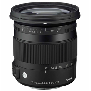 17-70mm f2.8-4 DC HSM Macro Contemporary Sony