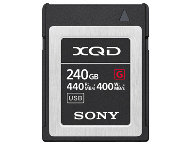 240GB XQD G Series Memory Card