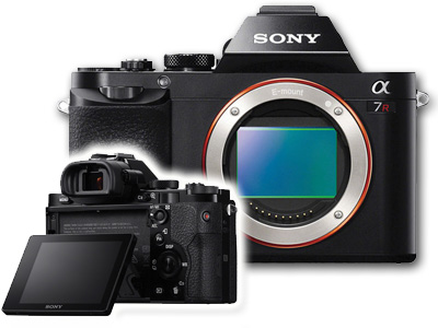 Sony Alpha a7R 36MP Mirrorless Camera Body Black