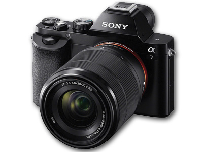 Alpha a7 24MP Mirrorless/FE 28-70mm Lens BLK