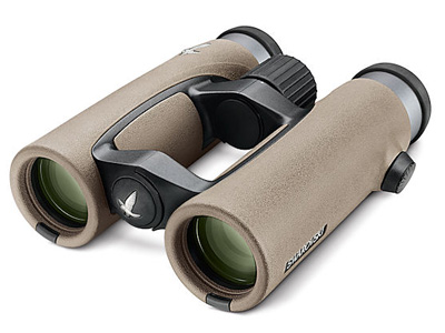 8x32 EL SwaroVision Sand Brown FieldPro Package