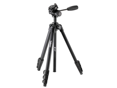 M474-Section Aluminum Tripod with 2-Way Fluid Head