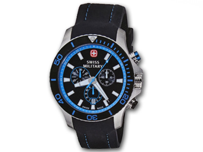 Swiss Military Sea Force Blue Chronograph