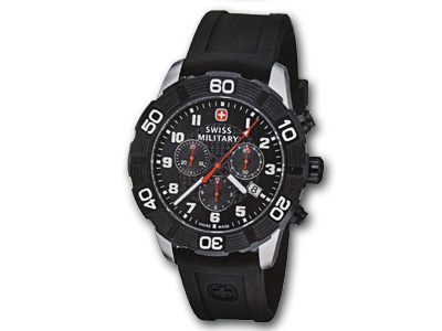 Swiss Military Roadster Chronograph Black