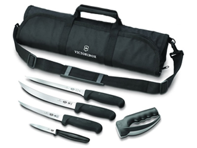 Fish Fillet Kit Set of 4 Knives and Bag