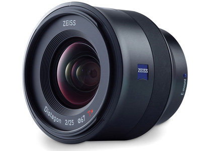 25mm f/2.0 Zeiss Batis Lens for Sony E Mount