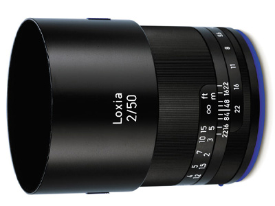 50mm f/2.0 Zeiss Loxia Lens for Sony E Mount