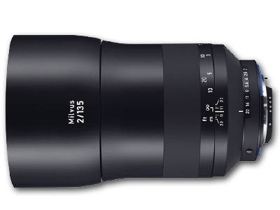 135mm f/2 ZF.2 Zeiss Milvus for Nikon F Mount/CPU