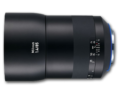85mm f/1.4 ZE Zeiss Milvus Lens for Canon EF Mount