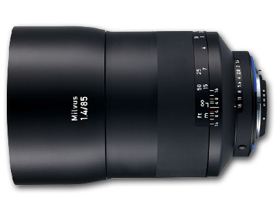 85mm f/1.4 ZF.2 Zeiss Milvus for Nikon F Mount/CPU