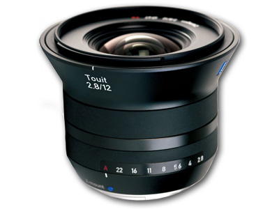 12mm f/2.8 Zeiss Touit Lens for Fuji X Mount