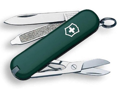 Victorinox Classic SD  Hunter Green
