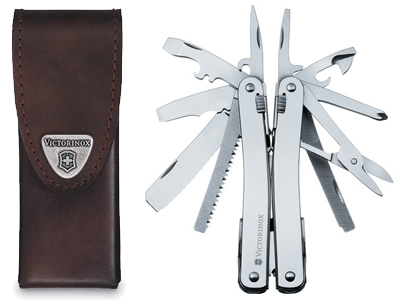 SwissTool Spirit Multi-Tool with Pouch