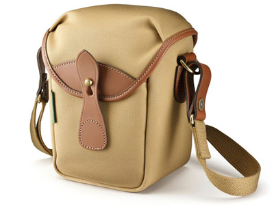 72 Khaki Canvas and Tan Leather Trim Bag