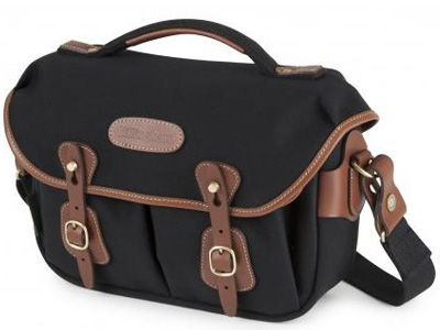 Hadley Small Pro Shoulder Canvas Black/Tan