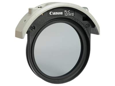 Canon Drop In Circular Polarizing Filter 52mm