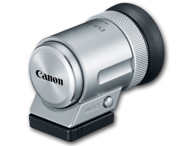 EVF-DC2 View Finder for Canon Silver