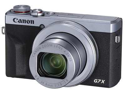 Powershot G7 X Mark III 4.2x Zoom Silver