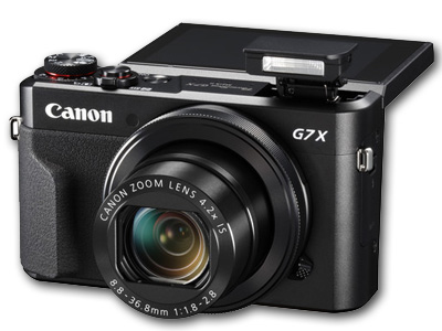 Powershot G7 X Mark II 20 MP 4.2x Zoom Black