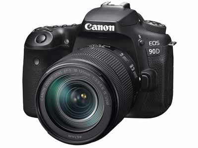 EOS 90D with 18-135 IS USM Lens
